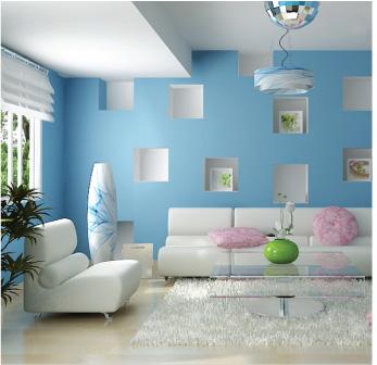 xanh duong unique decor