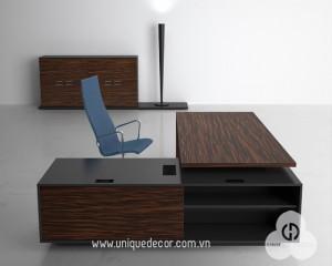 Thiết kế nội thất văn phòng lãnh đạo