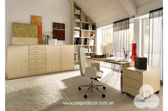 thiết kế nội thất văn phòng giám đốc