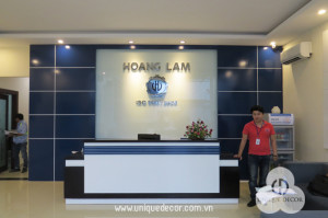 Hoàn thiện nội thất văn phòng công ty Hoàng Lâm