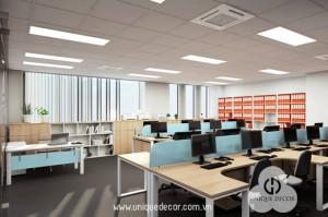Tư vấn thiết kế văn phòng quy mô rộng