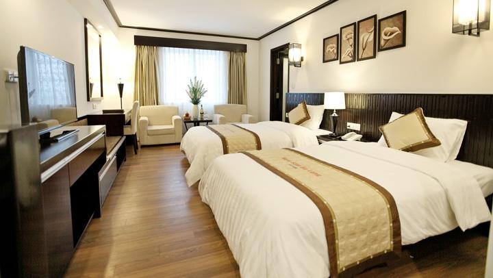 nội thất phòng đôi khách sạn