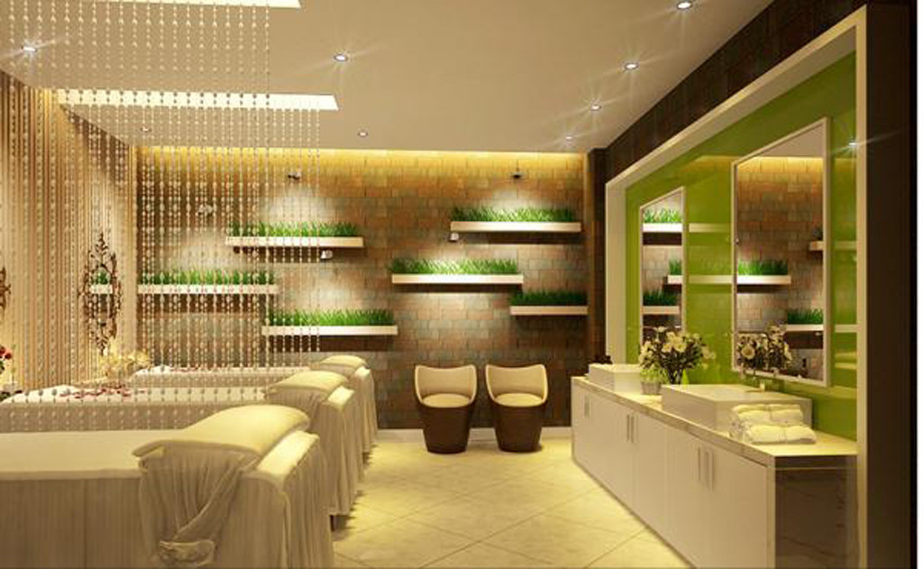 thiết kế spa tại nhà