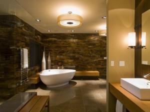 Mẫu thiết kế phòng tắm spa hiện đại với không gian ấn tượng