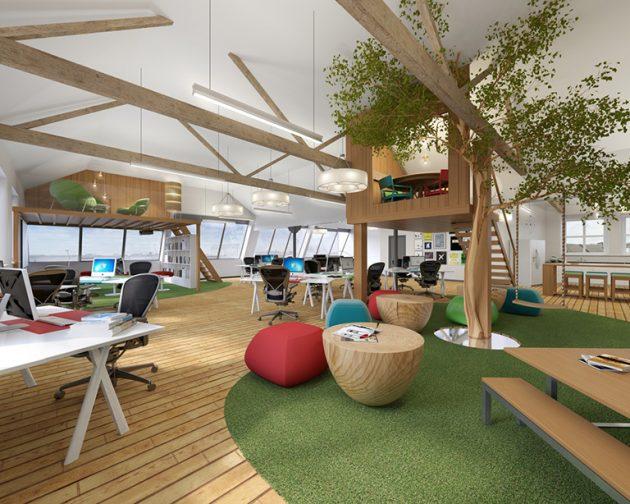 ý tưởng thiết kế văn phòng tuyệt vời5