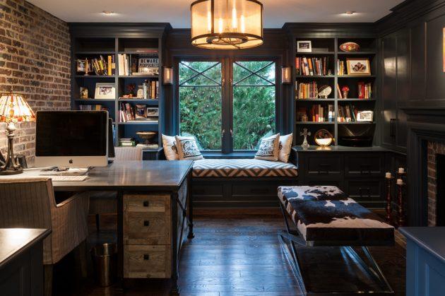 Tiêu chí thiết kế văn phòng tại nhà1