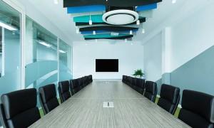 Giải pháp thiết kế nội thất phòng họp sang trọng