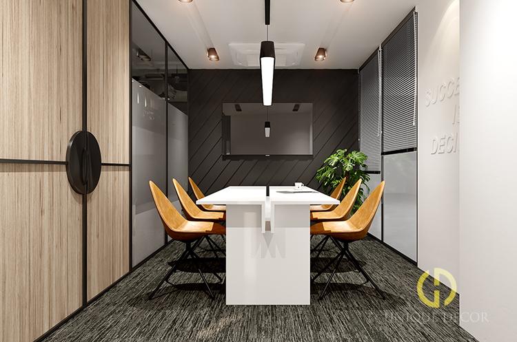 Thi công thiết kế nội thất văn phòng cao cấp
