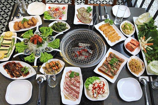 Nhà hàng nướng tại bàn