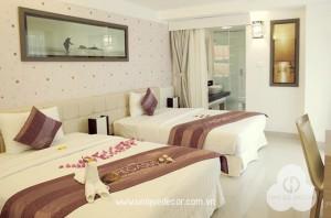 Thiết kế thi công nội thất khách sạn – resort Pegasus