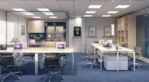 Thiết kế nội thất văn phòng diện tích nhỏ