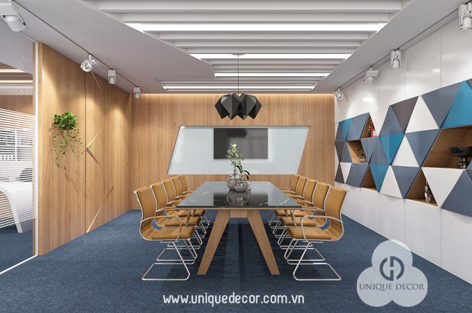Thiết kế nội thất văn phòng phòng họp