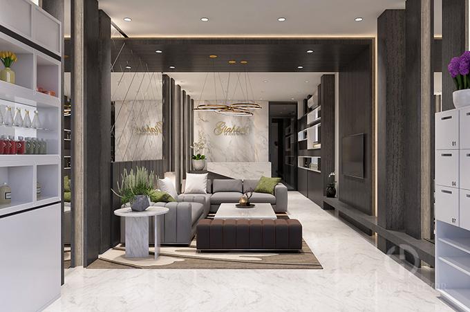 thiết kế nội thất thẩm mỹ viện