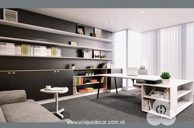 mẫu thiết kế văn phòng