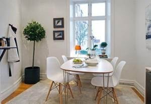 Giải pháp tối ưu cho phòng ăn chật hẹp