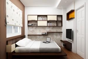 Một số lưu ý nhỏ khi thiết kế phòng ngủ cho các cặp đôi