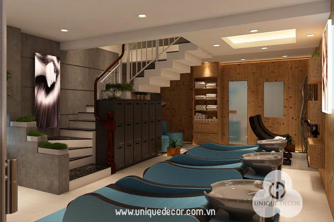 thiết kế nội thất spa chuyên nghiệp