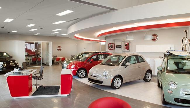 thiết kế nội thất showroom ô tô 3