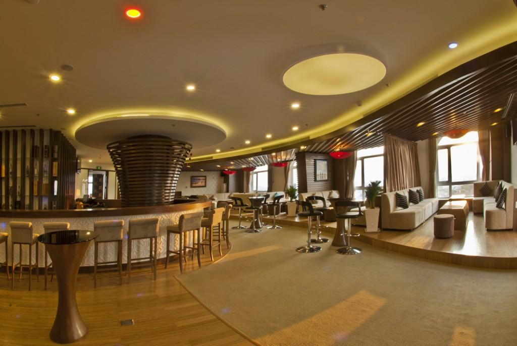 không gian khách sạn
