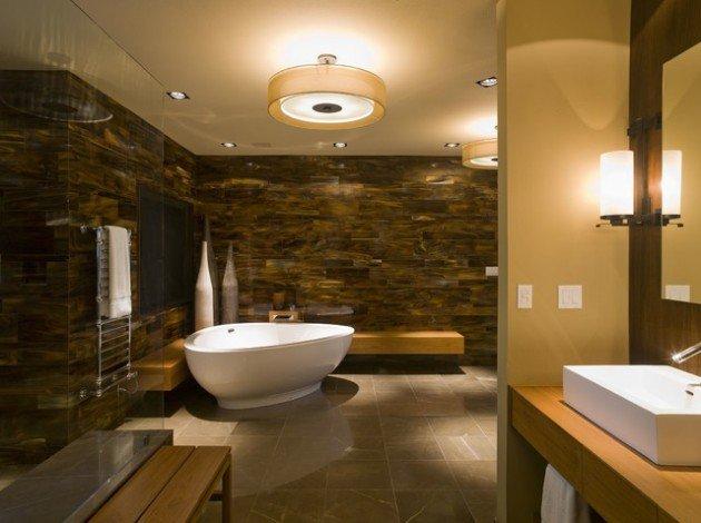 thiết kế phòng tắm spa