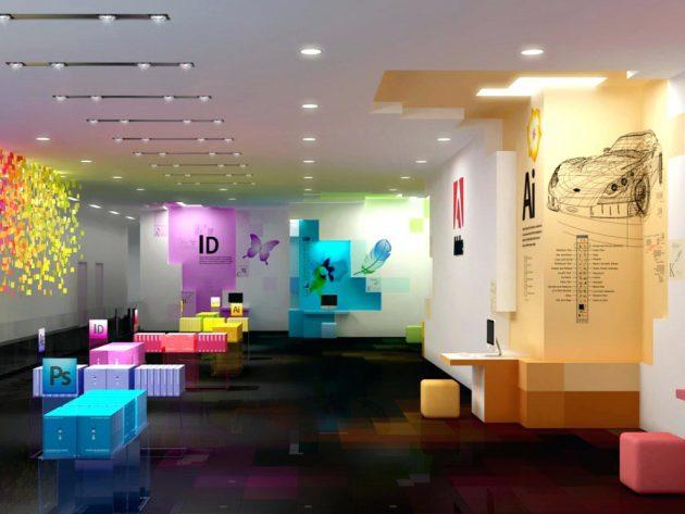 ý tưởng thiết kế văn phòng tuyệt vời7
