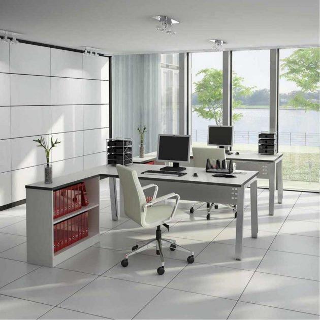 mẫu thiết kế văn phòng làm việc12