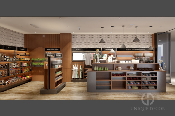 Nhu cầu thiết kế nội thất showroom
