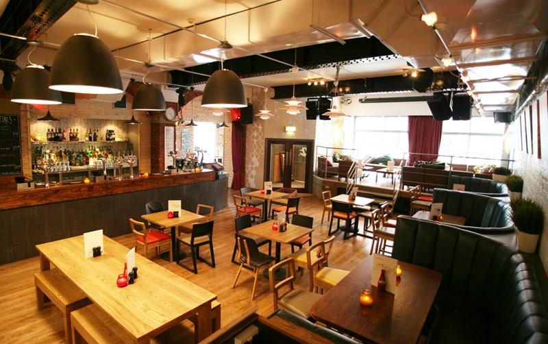 Giải pháp nội thất nhà hàng ăn uống hiện đại