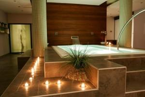 Mẫu phòng tắm spa, thẩm mỹ viện mini tại nhà đẹp