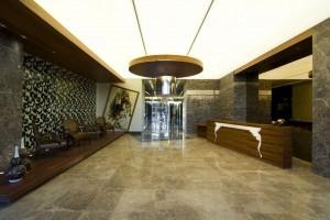 Ý tưởng thiết kế sảnh khách sạn hiện đại