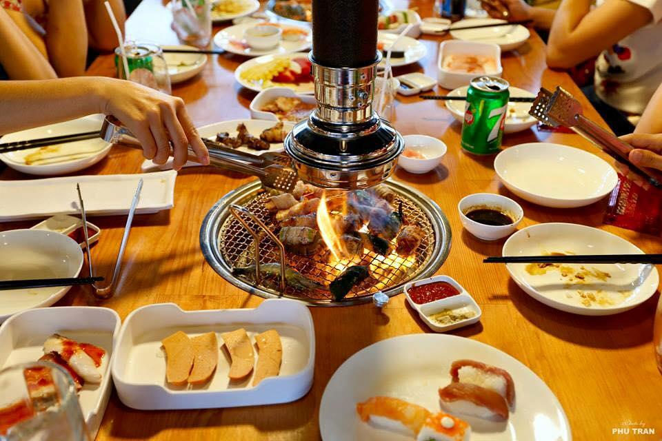 Nhà hàng nướng không khói tại bàn