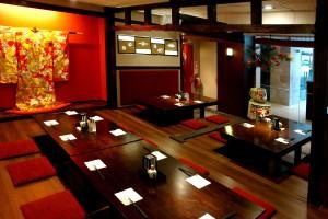 Thiết kế nội thất nhà hàng kiểu Nhật đẹp sang trọng