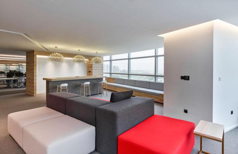 mẫu thiết kế văn phòng công ty BĐS
