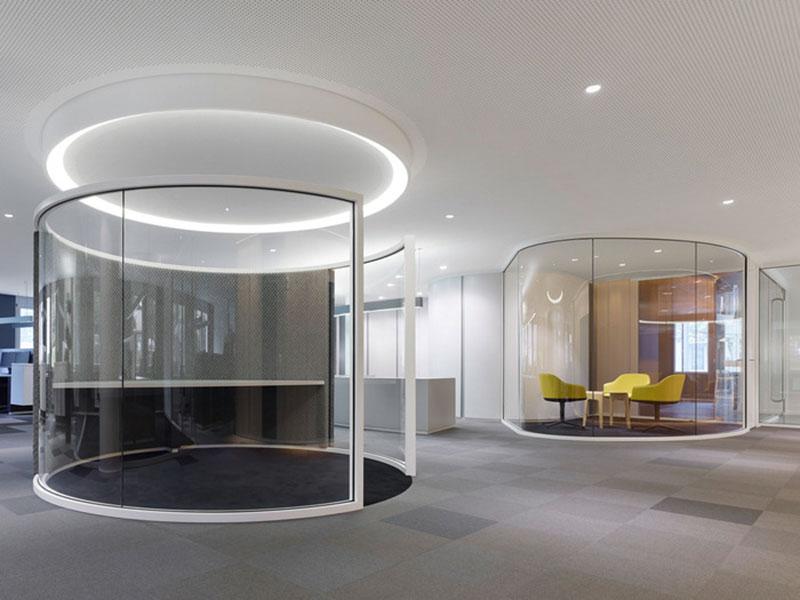 mẫu thiết kế văn phòng công ty BĐS10