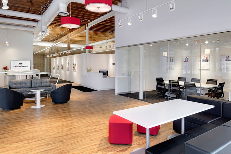 Mẫu thi công trang trí văn phòng hiện đại