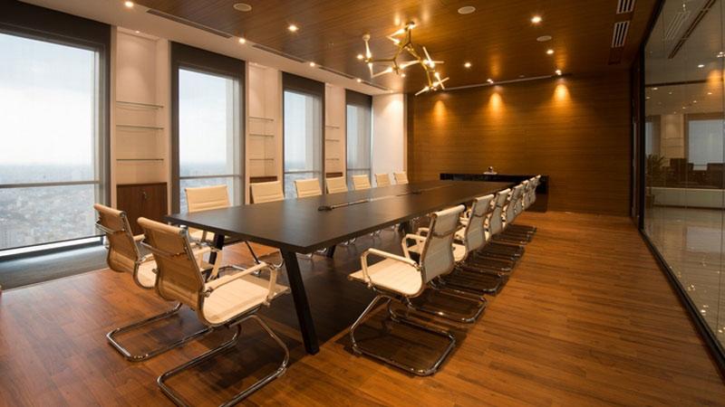 mẫu thiết kế văn phòng công ty BĐS20