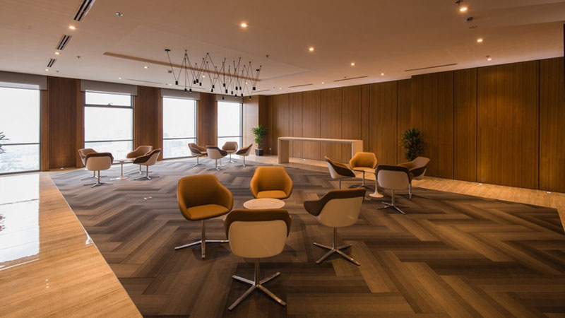 mẫu thiết kế văn phòng công ty BĐS21