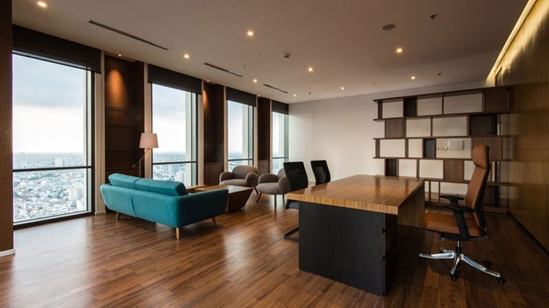 mẫu thiết kế văn phòng công ty BĐS22