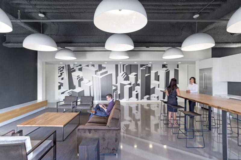 mẫu thiết kế văn phòng công ty BĐS6