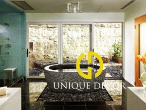Mẫu thiết kế phòng tắm spa tại nhà đẹp