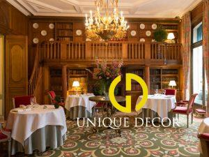 Mẫu thiết kế nhà hàng phong cách Pháp