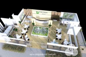 Mẫu thiết kế văn phòng công ty BDS
