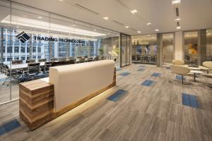 Thiết kế văn phòng thương mại tại nơi làm việc hiện đại