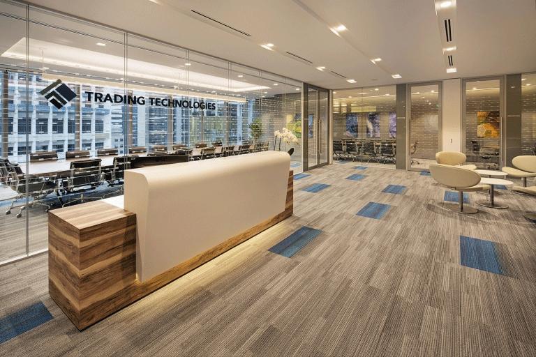 thiết kế văn phòng thương mại