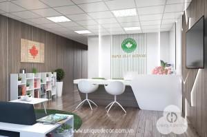 Lời khuyên thiết kế khu vực tiếp tân cho văn phòng