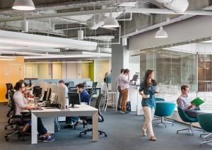 6 mẹo thiết kế văn phòng mở giúp tăng năng suất