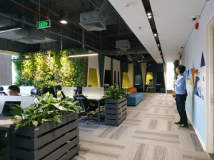 Thiết kế nội thất văn phòng thời công nghệ 4.0