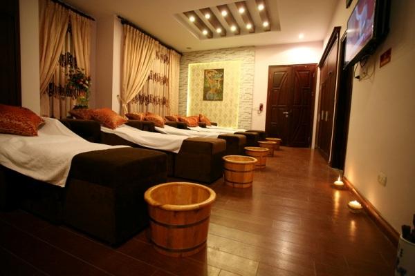 Ghế massage foot