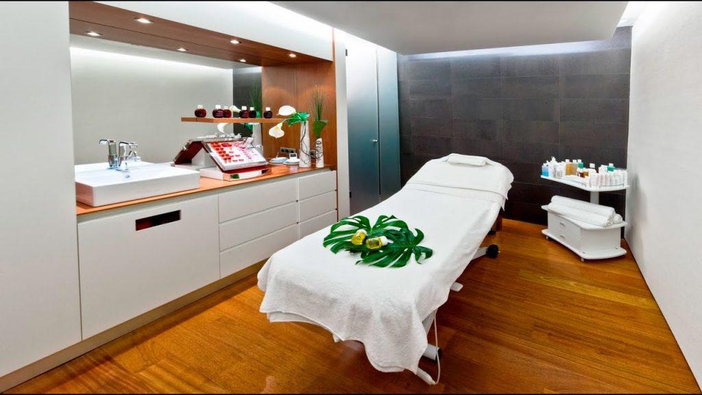 Giường massage trị liệu