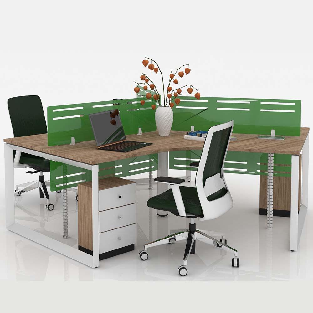 Mẫu bàn làm việc đẹp cho văn phòng